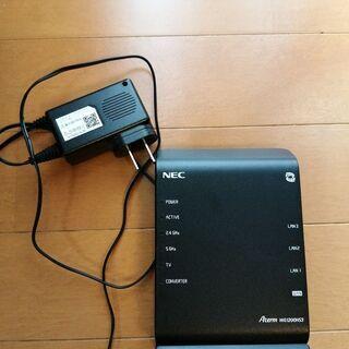 WiFiルーター NEC Aterm WG1200HS3 867...