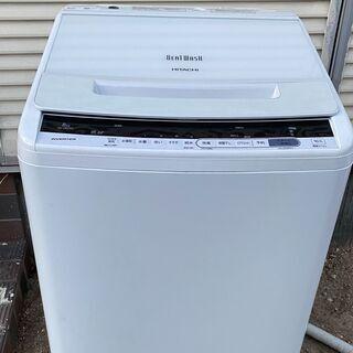 【日立】ビートウォッシュ 全自動洗濯機 8.0kg BW-V80...