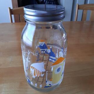 ムーミン 蓋付き ビン 瓶 小物入れ クッキー お菓子
