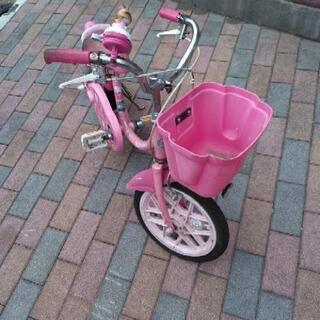 ブリジストン キティ16インチ自転車 - ふじみ野市