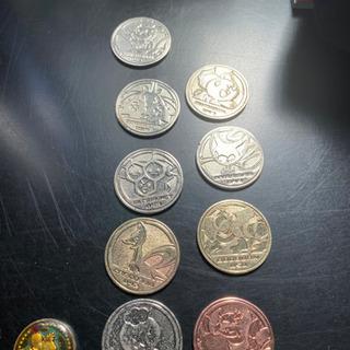 最終値下げ 昔のポケモンメダル10枚