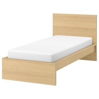 【ネット決済】IKEA シングルベッド ベッドフレーム+マットレス