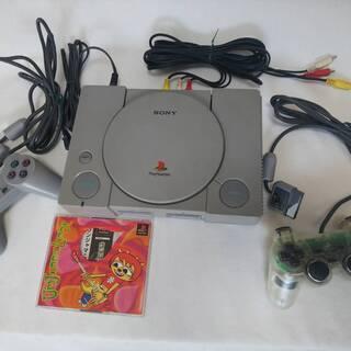 PlayStation PS oneとコントローラーなど