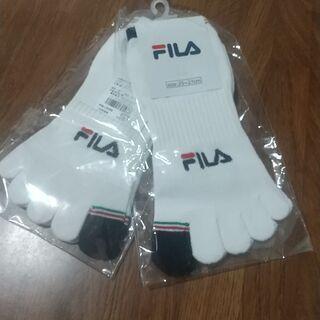【ネット決済】FILA 新品 ソックス 靴下