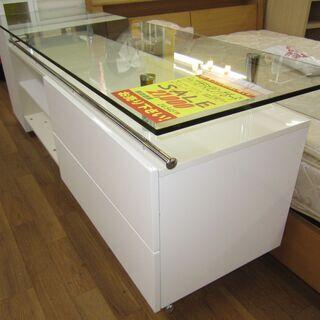 R203 高級感 トップガラスリビングボード、幅180cm - 名古屋市