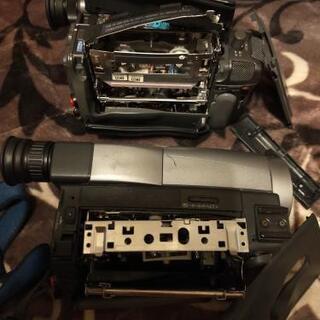 【部品取り専用】8ミリビデオカメラ