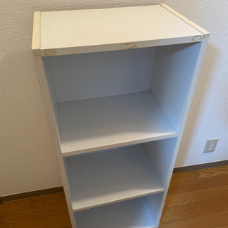 3段BOX 白