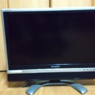 シャープ  AQUOSの液晶テレビ 19型
