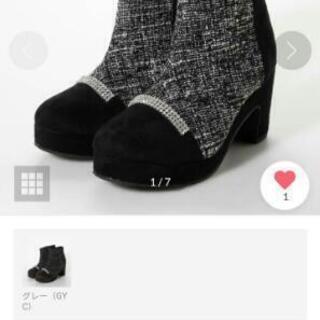 新品 未使用  ショートブーツ 靴