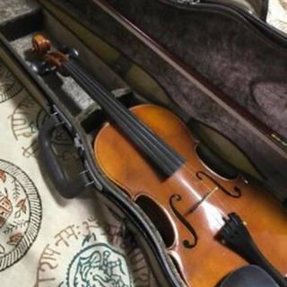 バイオリン ドイツ ペゾルト  弓、ケース付き