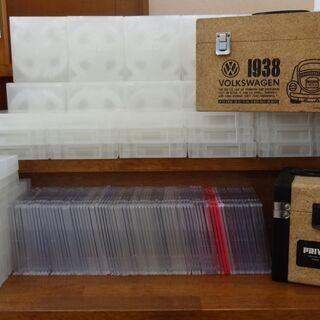 CD DVD ブルーレイ プラケース142枚セット/CD・DVD...