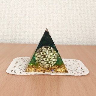 オルゴナイト【ピラミッド】のワークショップ