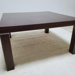 【決まりました】こたつテーブルの画像