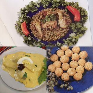 ペルー料理、ビーガン料理ケータリング致します