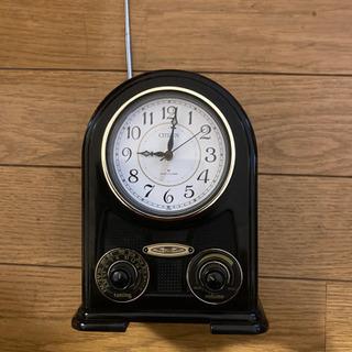 【ネット決済】ラジオ付き置き時計