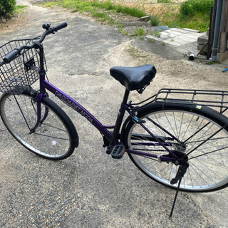 【ネット決済・配送可】自転車 27インチ