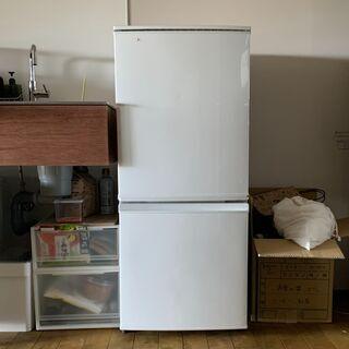 冷蔵庫 SHARP 137L SJ-D14B-W
