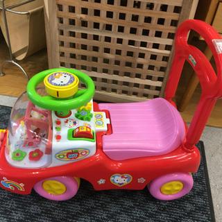 ※値下げしました※室内乗用ハローキティ 乗用玩具 手押し車…