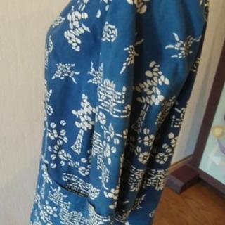 未使用⭐️ハンドメイド ⭐️藍染め・薄めのジャケット