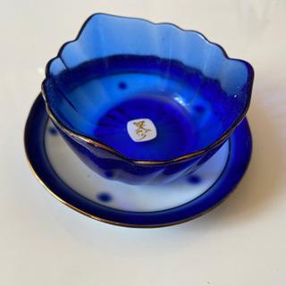 ガラスの小鉢とお皿