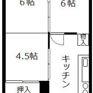 5月無料❗️ 【敷金・礼金0】3DK 46㎡ 家賃5.7万円 バ...