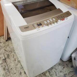 アクア 8キロ洗濯機 AQW-V800D 2015年製