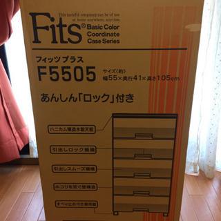 ☆テンマフィッツ☆Fits☆プラケース5段☆FE5505☆ほぼ新...