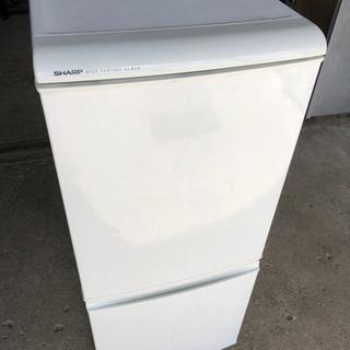 動作確認済 シャープ  2ドア 冷凍冷蔵庫 135L 2006年