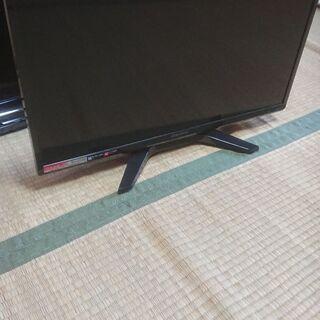 小型の液晶テレビ