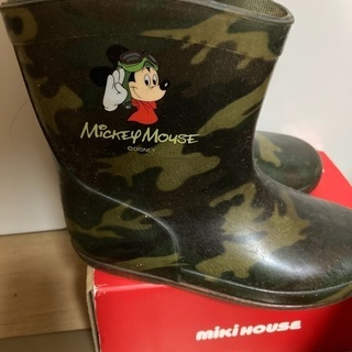 長靴 ミッキーマウス 16センチ