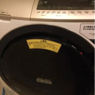 中古品 洗濯乾燥機  HITACHI BD-SV110EL(W)