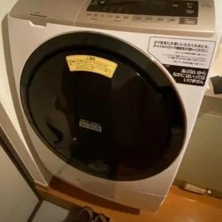 中古品 洗濯乾燥機  HITACHI BD-SV110EL(W) - 氷見市