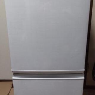 【配達出来ます!】★美品★2017年 SHARP 冷凍冷蔵…
