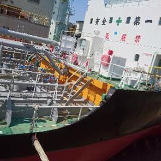 船のエンジンの整備&仕上げ