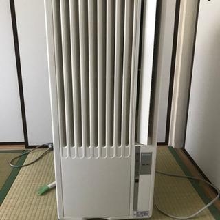 【ネット決済・配送可】【中古】窓用ルームエアコン