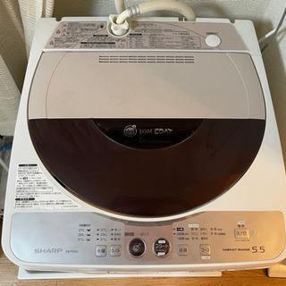 【ネット決済】SHARP洗濯機 お譲りします