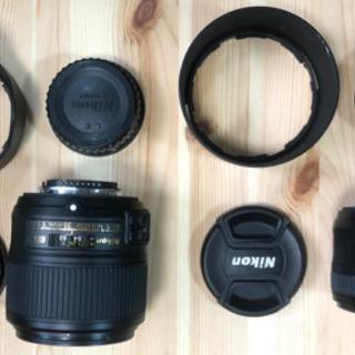 Nikon AF-S NIKKOR 50mm F1.8Gと35m...