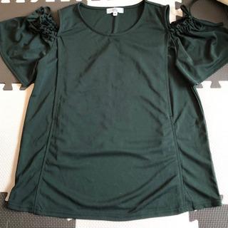 新品同様!授乳服 半袖(肩あき) Mサイズ