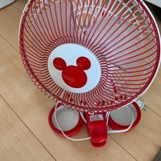 ディズニー 扇風機 卓上 クリップ