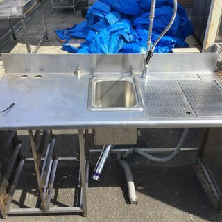 業務用 ドリンクバー台 ステンレス 浄水器 コップラック付き 飲食店