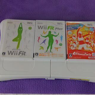 値下げ! 任天堂 Wiiフイット バランスボードとソフト