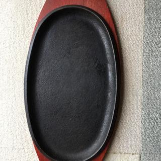【ネット決済】ステーキ用鉄板プレート