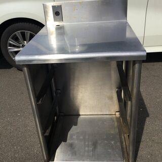 業務用 ステンレス作業台 食洗器ラック コンセント付き H85 ...
