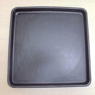 JM10898)本特製 大きなお盆 四角形 黒色【取りに来られる...