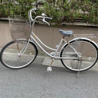 【ネット決済】26インチ 自転車 ママチャリ シティバイク