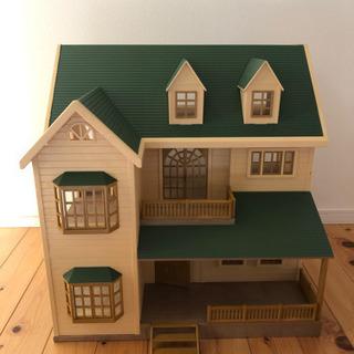 【ネット決済】シルバニアファミリー 緑の丘のすてきなお家