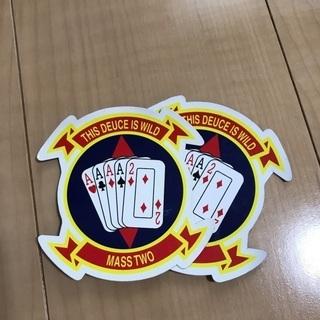 沖縄米海兵隊 シール OKINAWA USMC 普天間基地 上空...