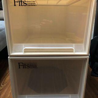 【ネット決済】プラスチックの収納家具 3つ