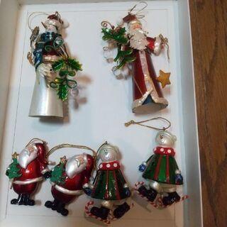 【ネット決済】クリスマス飾り6個 中古品(単品販売可)
