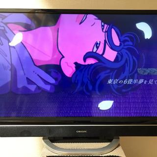 orion 32型 テレビ TV  RN-32SH10  2017年式